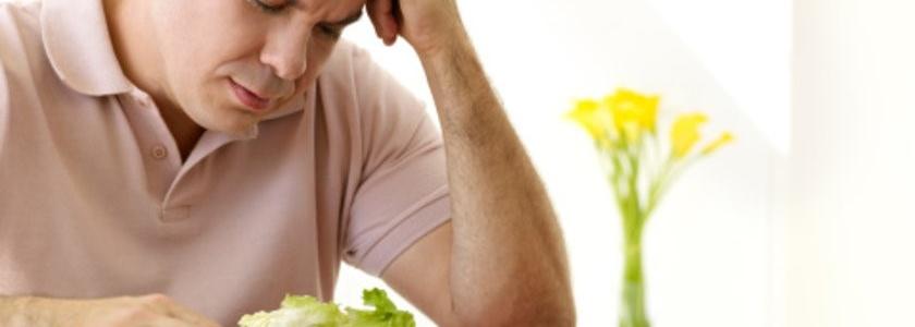 Низкожировая и средиземноморская диета приводят к снижению тестостерона.