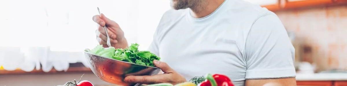Преобладание растительной пищи в рационе не приводит к снижению тестостерона у мужчин
